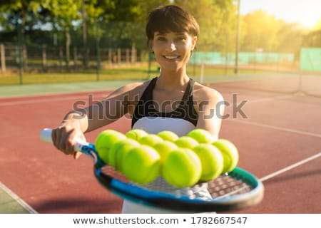 Ball and Racket Stock photo © mikdam