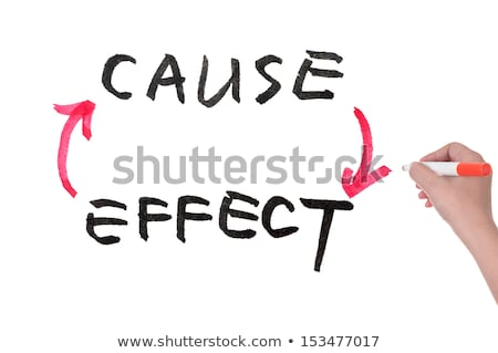 Cause and Effect Arrows Concept Stock photo © ivelin