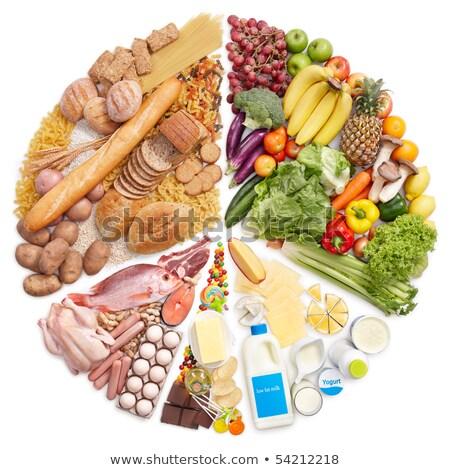 Dieta sana alimentare gruppi grafico immagine business Foto d'archivio © cteconsulting
