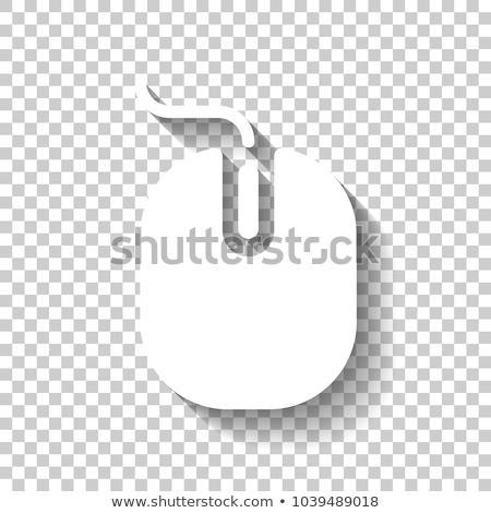 witte · pc · toetsenbord · geïsoleerd · computer · technologie - stockfoto © make