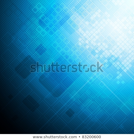 Contrast dark blue hi-tech background Stock photo © saicle