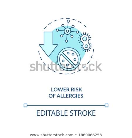 Lowered Immunity - Medical Concept. Stock photo © tashatuvango