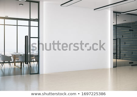 Concept of creative office room interior workspace, workplace. Stock photo © netkov1
