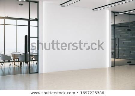 negocios · oficina · trabajo · en · equipo · proyecto · mujer - foto stock © netkov1
