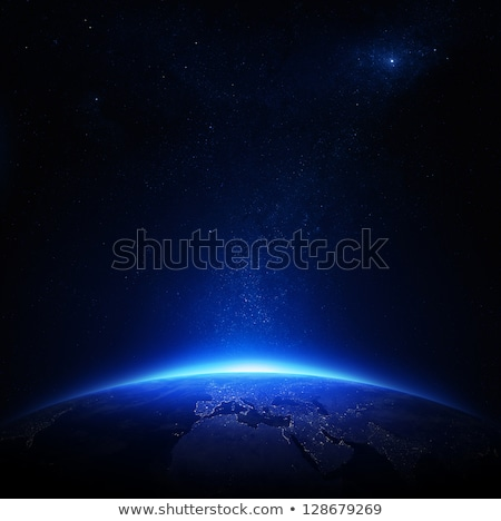 Fictional space background Stock photo © kjpargeter