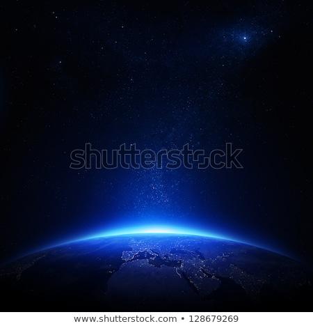 nebulosa · emissão · concha · alto · velho - foto stock © kjpargeter