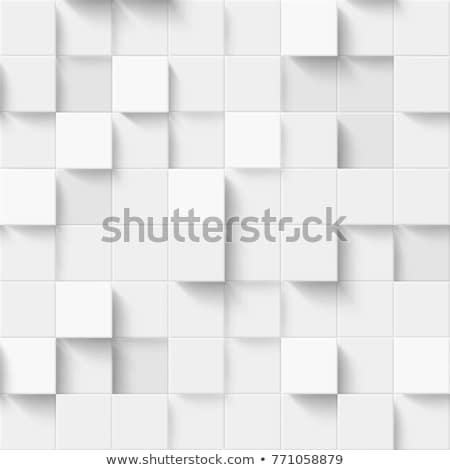 seamless grey square mosaic vector texture stock photo © lenapix