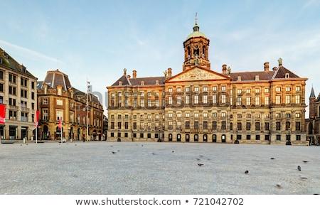 kraliyet · saray · Amsterdam · hollanda · Bina · mimari - stok fotoğraf © vladacanon