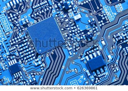 bilgisayar · bellek · yonga · görmek · mavi - stok fotoğraf © prill