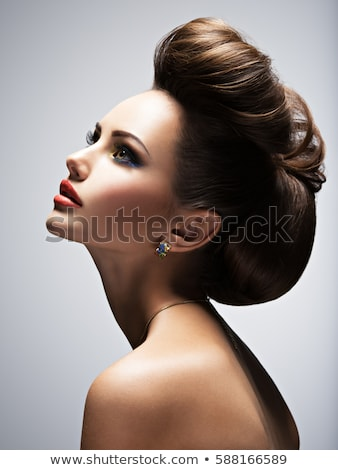 Modelo perfil camiseta invisible espacio de la copia Foto stock © deandrobot