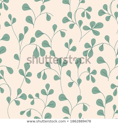 Seasonal Nature Abstract Background Eco Vector Floral