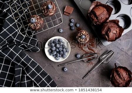 Photo stock: Délicieux · table · coup · studio · chocolat