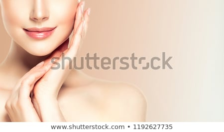 Kadın sağlık güzellik kadın plaj portre Stok fotoğraf © IS2
