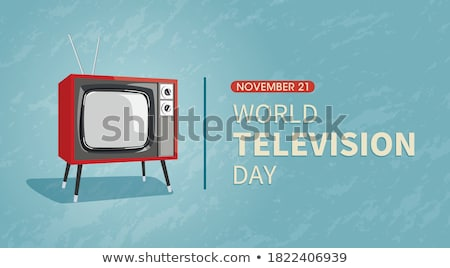 Stock photo: 21 november World Television Day