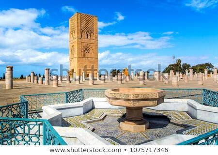 torre · blu · pietra · religione · stile · cultura - foto d'archivio © alessandro0770