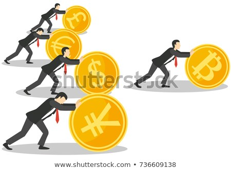 Dollar ahead of euro Stock photo © IMaster