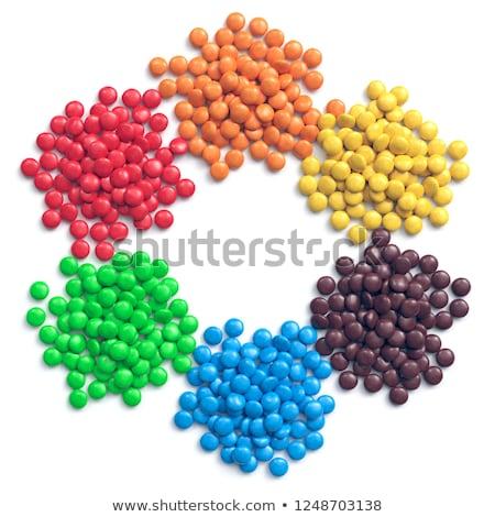 round bubbles in six colors stock photo © colematt