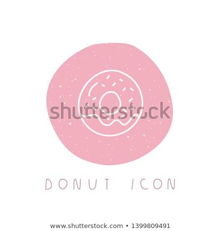 donut · schets · icon · schets · doodle - stockfoto © rastudio