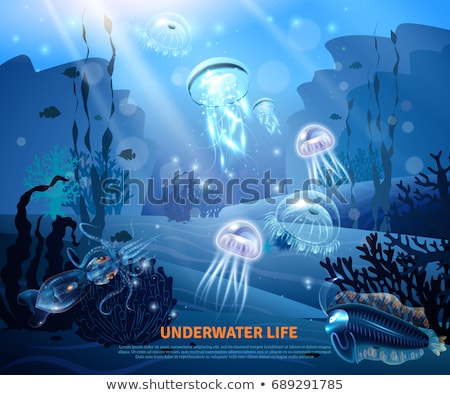 onderwater · wereld · behang · tropische · vissen · water · achtergrond - stockfoto © margolana