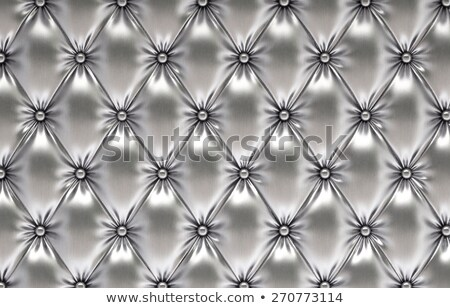 silver leather  upholstery chairs  Stock photo © keko64