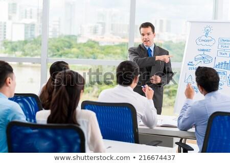 iş · eğitim · eğitim · danışman · öğrenme · öğretim - stok fotoğraf © robuart