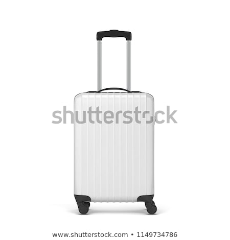 Large polycarbonate suitcase Stock photo © netkov1