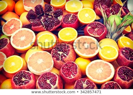 набор плодов рынке Стамбуле Турция различный Сток-фото © boggy