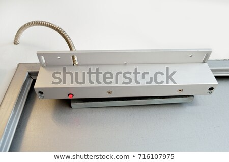 Magnetic alarm sensor Stock photo © magraphics