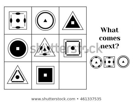 what comes next circle figure Stock photo © Olena
