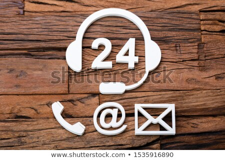 24 Hour Customer Support Concept And Various Contact Methods Stock photo © AndreyPopov