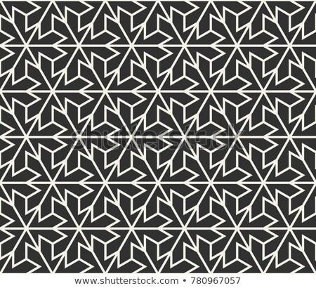 Sin costura patrón geométrico creativa formas vector Foto stock © ExpressVectors