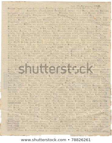 Szó kézirat klasszikus írógép retro copy space Stock fotó © ivelin