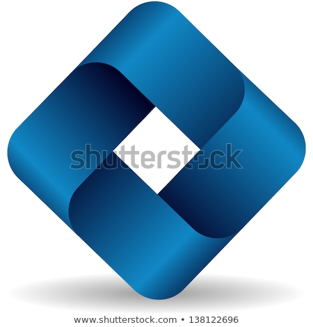 abstract geometry element connection modern logo symbol icon vector design Stock photo © gothappy