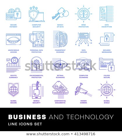 Money Account Verification Vector Thin Line Icon Stock photo © pikepicture