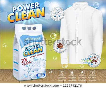 ванную чистого Creative рекламировать плакат вектора Сток-фото © pikepicture