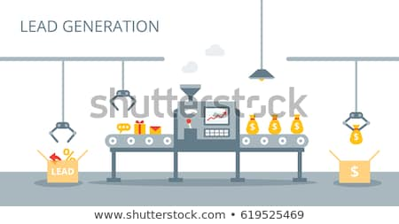 Money distribution abstract concept vector illustrations. Stock photo © RAStudio