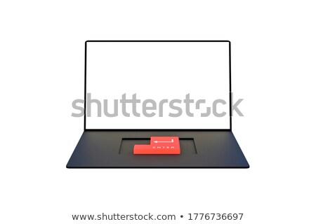 elismert · belépés · kulcs - stock fotó © 4designersart