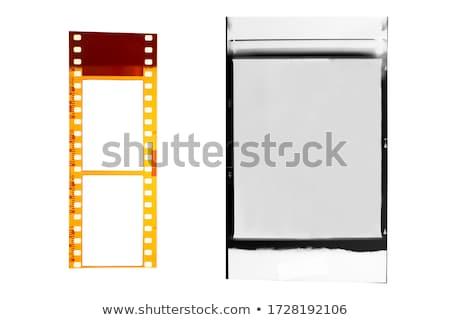 映画 孤立した 白 紙 テクスチャ デザイン ストックフォト © olira