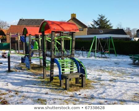 子供 · スライド · 孤立した · 白 · 学校 · 子 - ストックフォト © imaster