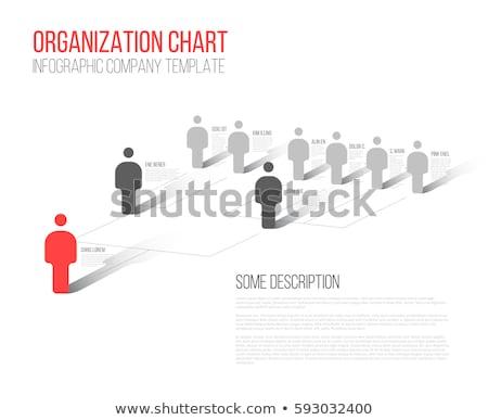 3d · иллюстрации · руководство · иерархия · строительство · аннотация - Сток-фото © dacasdo