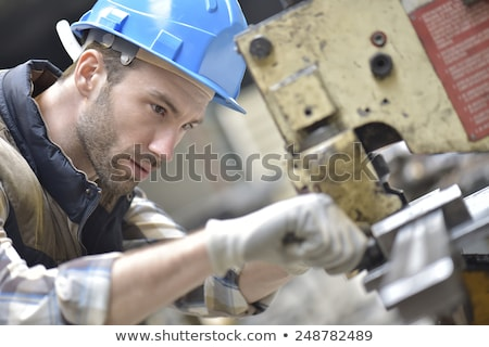 blue collar at work Stock photo © photography33