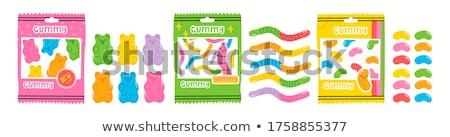 Stock fotó: Mixed Candy Vector