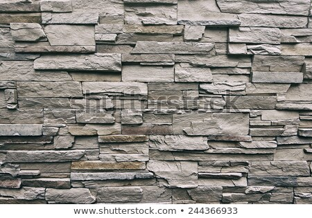 Mármol piedra ladrillo gris pared de ladrillo textura Foto stock © clearviewstock