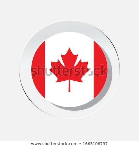 Kanada · bayrak · ikon · yalıtılmış · beyaz · web - stok fotoğraf © zeffss