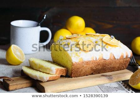 Lemon loaf Stock photo © fotogal