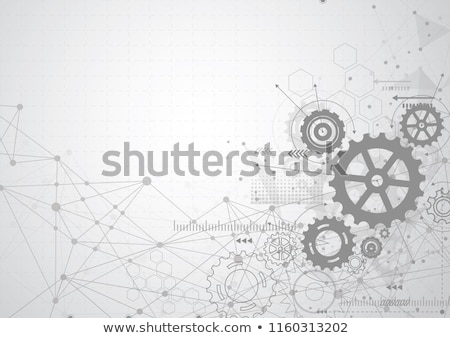 Gears Background Stock photo © ThreeArt