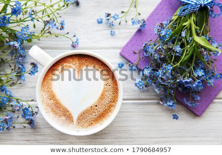 Flower And Cup Stock fotó © almaje