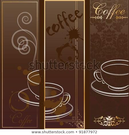 fasola · kawy · odizolowany · biały · czekolady - zdjęcia stock © smoki