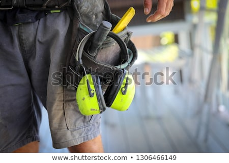 Tradesman with his tools Stock photo © photography33