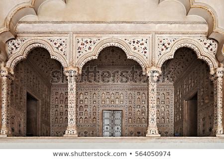 Beaucoup décoré alhambra palais architecture islam Photo stock © Procy